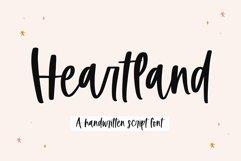 Heartland - A Handwritten Script Font Product Image 1