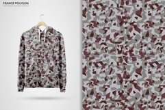 France Polygon Camouflage Patterns Product Image 6