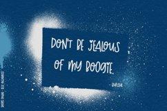 Boogie Down! Handlettered Sans Font Product Image 2