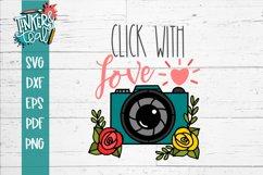 Camera svg / Love svg / Photographer SVG Product Image 2