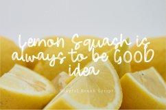 Fresh Lemonade Brush Playful Font Script Product Image 5