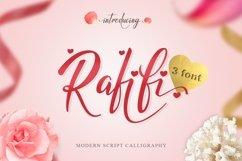 Web Font Rafifi Script Product Image 1