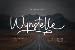 Wynstelle Script Product Image 1