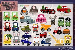 Whimsicality Vehicle Bundle SVG, DXF, PNG, EPS Commercial Product Image 2