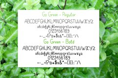 Go Green - handdrawn font Product Image 5