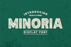 Minoria - Display rough Product Image 1