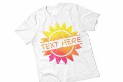 Sun Clipart Monogram SVG Bundle Product Image 2