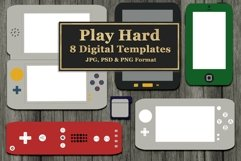 Gaming and Mobile Devices Digital Templates Product Image 1