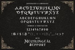 Rose Knight - Victorian Decorative Font Product Image 13
