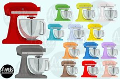 Baking clipart, cooking clipart, Mixers, graphics AMB-2800 Product Image 4
