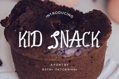 Kid Snack - A Playfull Font Product Image 1
