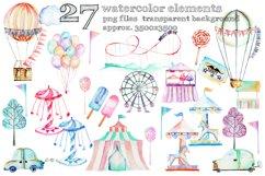 Amusement park clip art Product Image 2