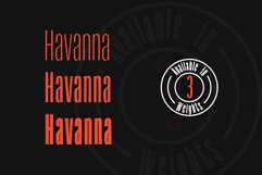 Havanna - Tall sans typeface with 3 weights Product Image 3