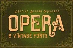 Opera Vintage Typeface Product Image 1