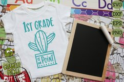 Cactus Grades On Point Elementary School SVG Product Image 4