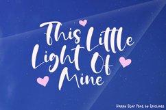 Happy Star - A Fun Bold Script Font Product Image 4