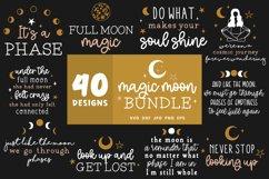 Moon Svg Bundle   Lunar Cycle Svg   Magic Svg Cut Files Product Image 4