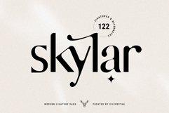 skylar - modern ligature sans font Product Image 1