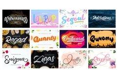 Mega Exclusive Font Bundle - 350 Font Product Image 11