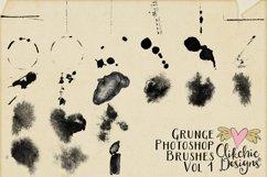 Photoshop Brushes - Grunge Texture Brushes Vol 1 Product Image 2