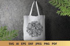 Floral Mandala SVG Product Image 5