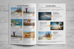 Holiday Travel Brochure Design v5 Product Image 3