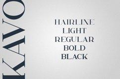 Kavo Serif Typeface | 5 weights Product Image 2
