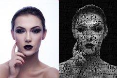 Typo Portrait v2 Photoshop Action Product Image 3