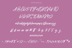 Heatwave Script Brush Handmade Modern Font Product Image 3