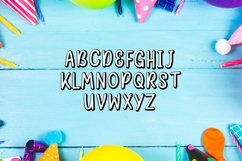 Web Font Happy Birthday Font Product Image 3