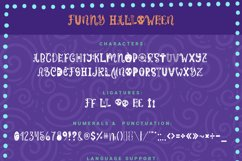 Funny Halloween Font Product Image 7