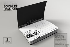 Booklet Passport Print MockUp Product Image 4