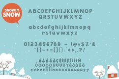 Snowty 3 Font Product Image 5