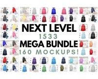 Ultimate TShirt Mockup Bundle Bella Canvas Gildan Next Level Product Image 4