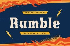 Rumble Font Product Image 2