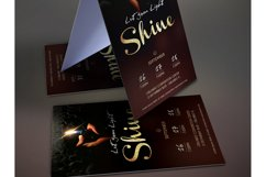 Shine Church Flyer Poster Photoshop Template Product Image 3