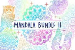 Mandala SVG Cut File Bundle II - 25 files Product Image 1