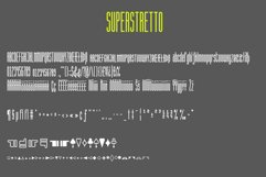 Superstretto Geometric banner logofont 4 family font Product Image 6