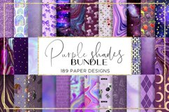 Color Shades BUNDLE digital paper pattern Product Image 6