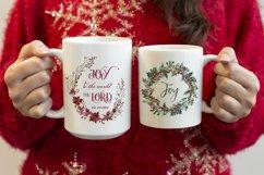 Woman holding a 15oz and 11oz mug, Red christmas jumper Product Image 3