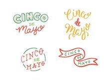 Cinco De Mayo Lettering Pack Product Image 3