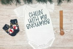 Web Font Winter Memories - A Quirky Hand-Lettered Font Product Image 4