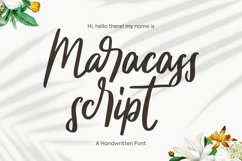 Maracass Script Product Image 1