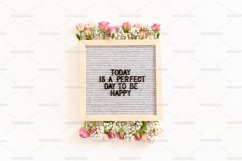 Quote Today is a perfect day to be happy Product Image 1