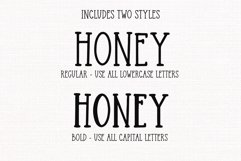 Honey Butter - A Farmhouse Font Product Image 5