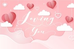 Loving Hearty - A Beauty Script Fonts Product Image 2