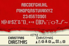 Christmas Knitted Font Product Image 3