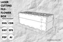 Tea Box - SVG - Laser cutting file Product Image 2