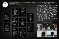 Chalk Lettering Set, Vector Product Image 3