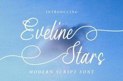 Web Font Eveline Stars Product Image 1